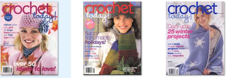 Crochet Today Magazine 47 Issue Collection Dvd Disc Pdf Ebay